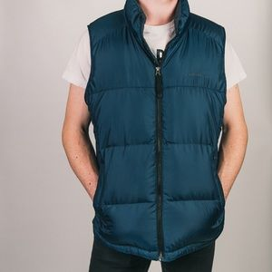 EXCELLENT CONDITION EDDIR BAUER DOWN PUFFER VEST